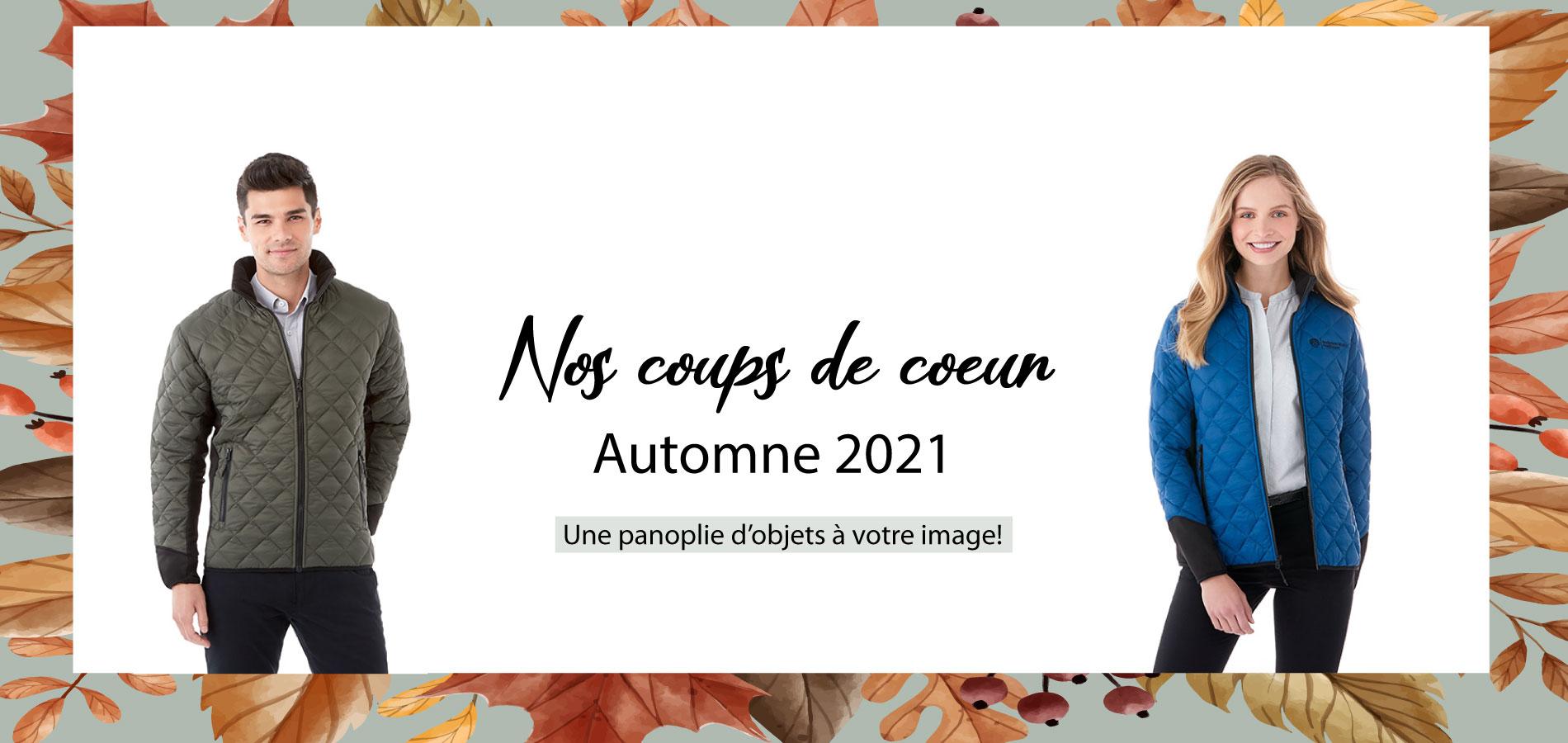 Coup de coeur Automne 2021